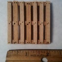 "Miniature Pallet 2"" x 2"""