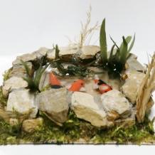 Miniature Koi Ponds